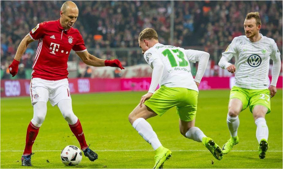 Ulreich Blunder, Bayern Munchen Gagal Mengalahkan Wolfsburg