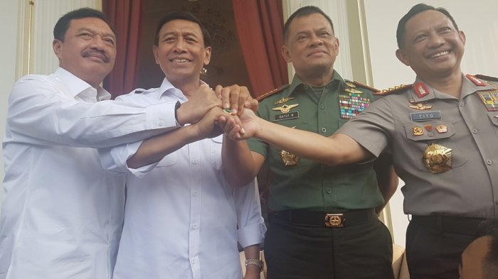 Kegaduhan TNI, BIN, dan Polri