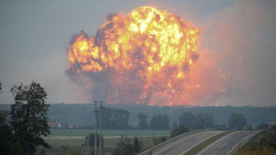 Ledakan Gudang Senjata Ukraina Diduga Akibat Sabotase