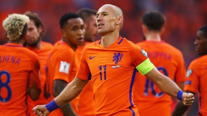 Belanda Tak Lolos ke Piala Dunia 2018, Arjen Robben Gantung Sepatu