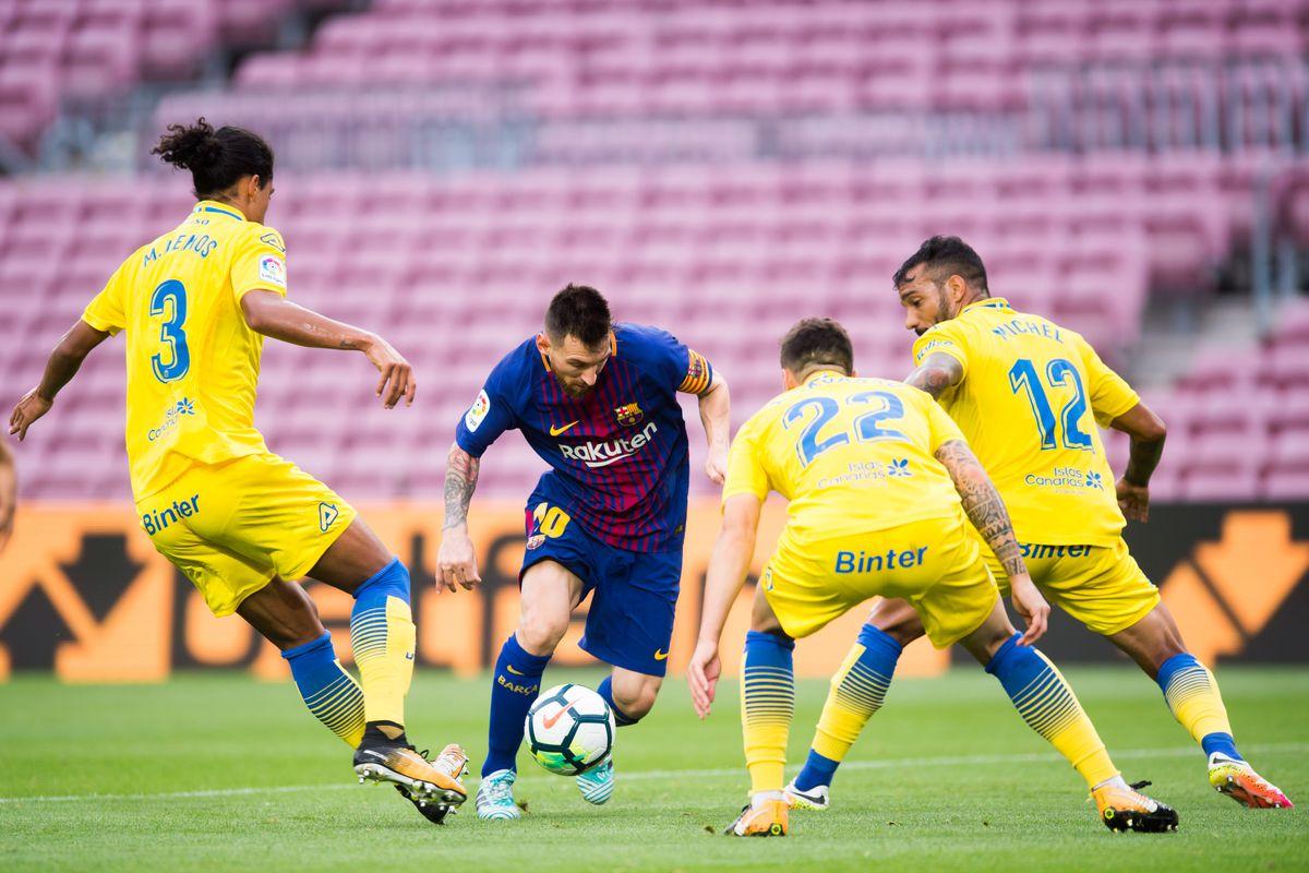 Bertanding Tanpa Penonton, Barcelona Cukur Las Palmas 3-0