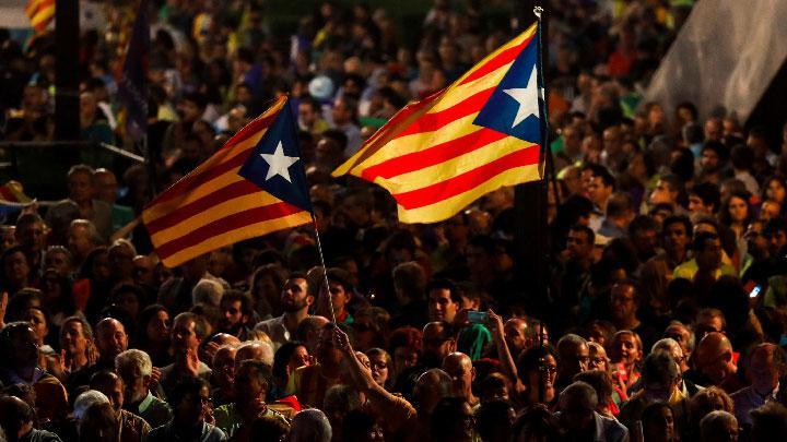 90 Persen Penduduk Catalunya Memilih Berpisah dari Spanyol