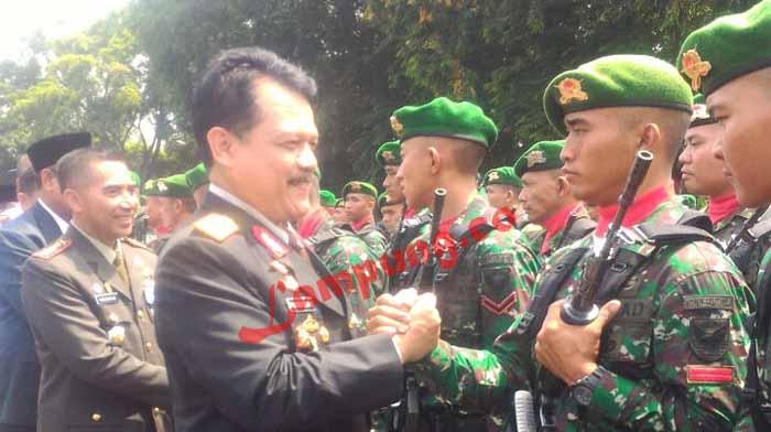 HUT TNI Ke 72 di Lampung