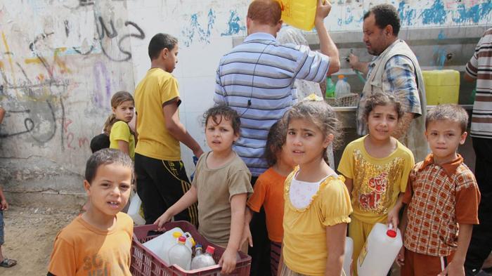 Israel Hentikan Pasokan Air Palestina