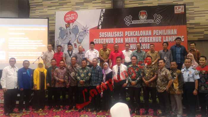KPU Sosialisasi Pilgub Lampung