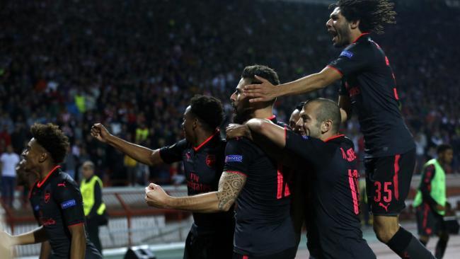 Kemenangan Lazio dan Arsenal