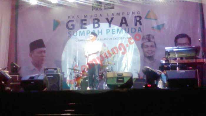 Mustafa: Kalau Mau Lampung Maju, PKS Muda harus Mendukung Saya