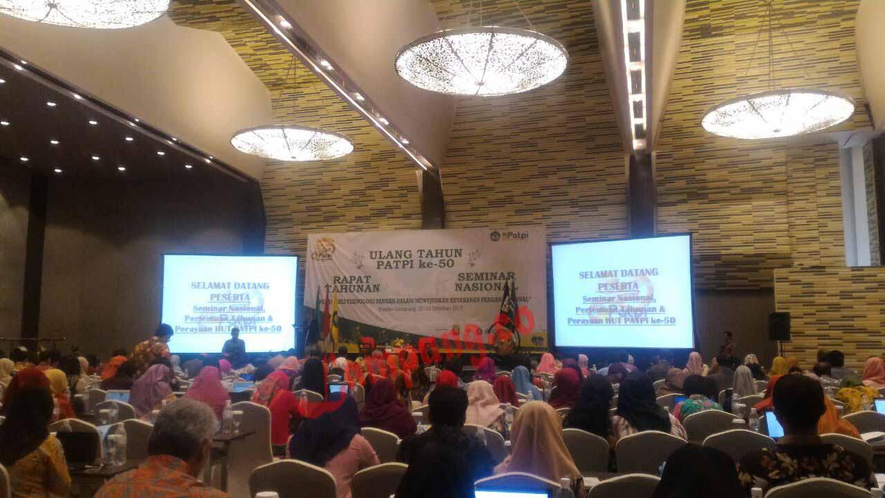 Rayakan Ulang Tahun ke 50, PATPI Gelar Seminar Nasional Ketahanan Pangan