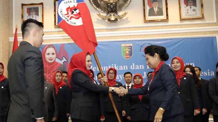 Yustin Ficardo Dilantik Jadi Ketua Yayasan Jantung Indonesia Lampung