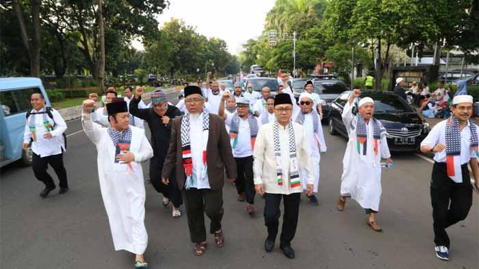 Bupati Lampung Selatan Ikut Aksi Bela Palestina 1712