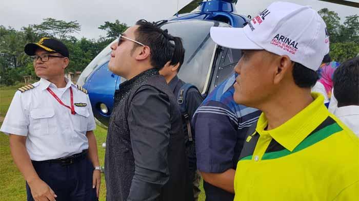 Untuk Sampai ke Mesuji, Nassar KDI Dijemput Helikopter