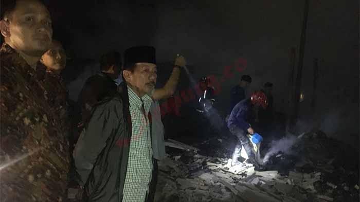 Terbakarnya TPS Pasar Perumnas Way Halim Benarkah di Sabotase? Ini Kata Herman HN