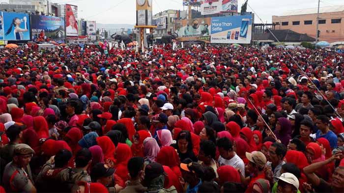 Milad Rachmat Hidayat ke 10, Bandar Lampung Merah Meriah