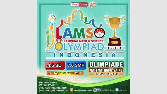 LAMSO 2018, Ajang Olimpiade Paling Bergengsi di Provinsi Lampung
