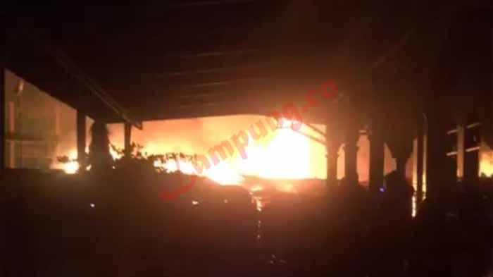 Penyebab Kebakaran Pasar Wayhalim
