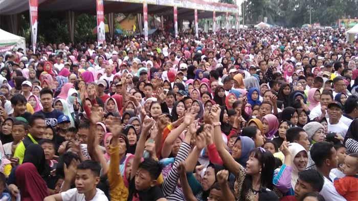 Peserta Jalan Sejat Arinal Lampung Utara