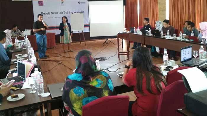 Antisipasi Berita Hoax, Aji Bandar Lampung Gelar Training Jurnalis