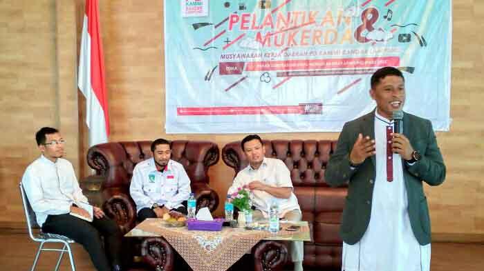 Pengurus Daerah KAMMI Bandar Lampung Resmi Dilantik
