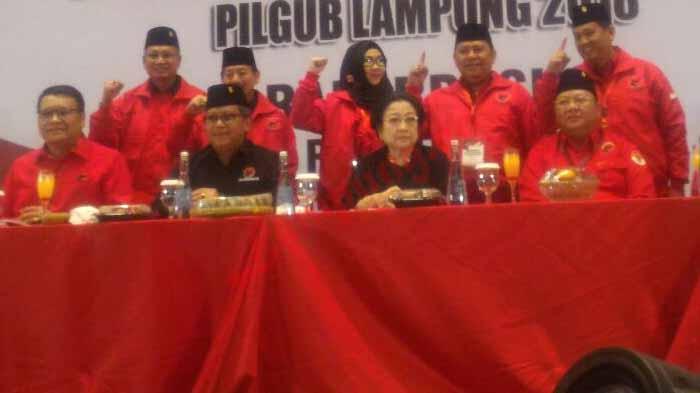 Rakerdasus PDIP Lampung