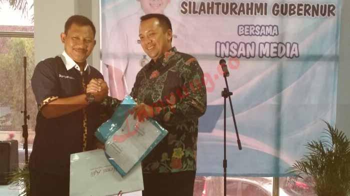 Ridho Silaturahmi ke PWI