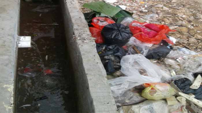 Sampah Pasar Perumnas Way Halim