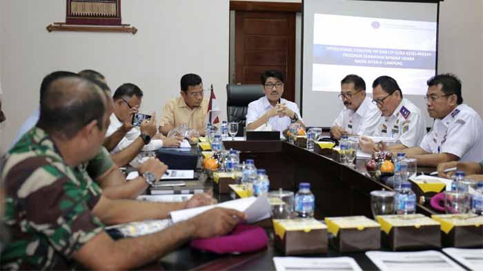 Pemprov Lampung Bahas Aturan Penggunaan Ruangan VIP Bandara Radin Inten II