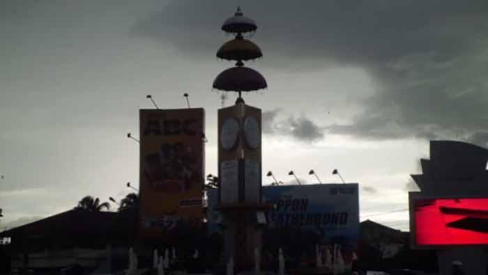 Cuaca buruk di Lampung