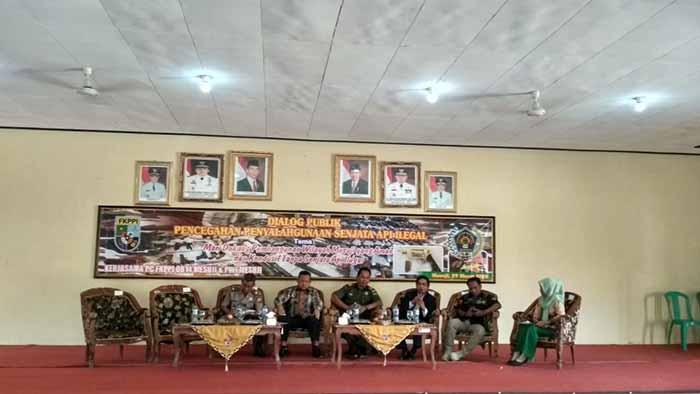 FKPPI-PWI Lampung Gelar Dialog Publik Pencegahan Penyalahgunaan Senjata Api Ilegal