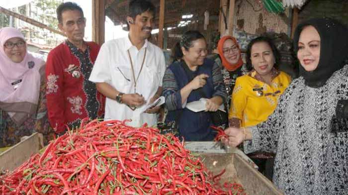 Ferynia Kepala Dinas Perdagangan Provinsi Lampung oke