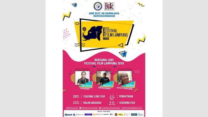Ayo Buruan Daftar Festival Film Lampung 2018, Gratis!!!