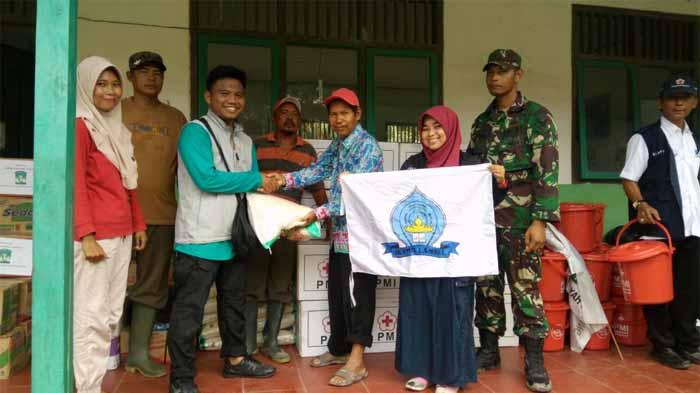 Peduli Banjir Seragi, IKAMM Lampung Selatan Salurkan Bantuan