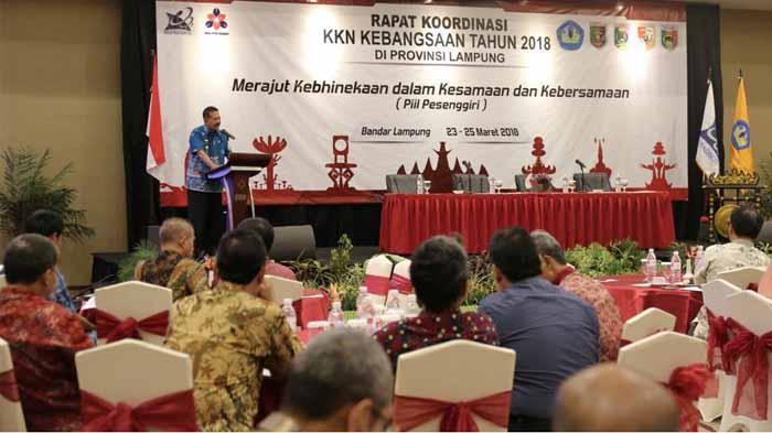 Pjs. Gubernur Lampung: KKN Kebangsaan Jadi Perekat Persatuan-Kesatuan Bangsa
