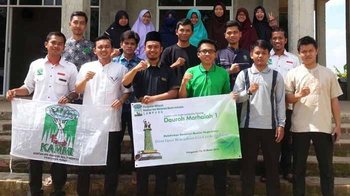 PW KAMMI Lampung Lantik Kader di Pringsewu
