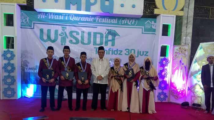 Mahasiswa Penghafal Qur'an Tahfidz 30 Juz Universitas Lampung Diwisuda