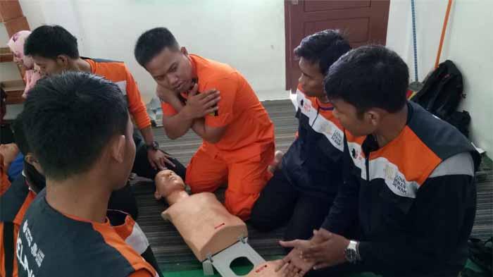Pelatihan Tanggap Bencana Madrasah Relawan