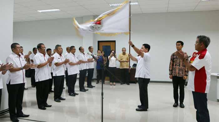 Ketua Umum Pergatsi Lampung, Budhi Darmawan Dikukuhkan