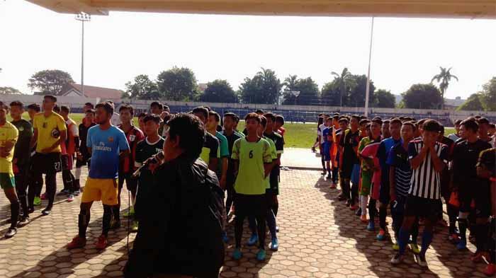 Target Tembus Zona Nasional, SS Lampung FC Seleksi 136 Pemain