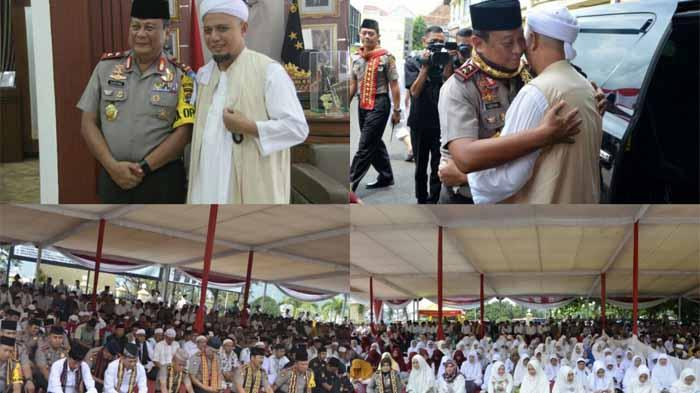 Tabligh Akbar di Polda Lampung, Kapolda Undang KH. Arifin Ilham