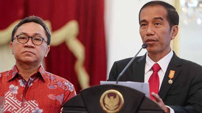 Zulkifli Hasan dan Jokowi