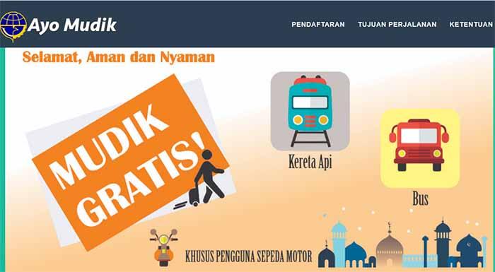 Mau Mudik Gratis ke Lampung? Daftar Sekarang via Internet