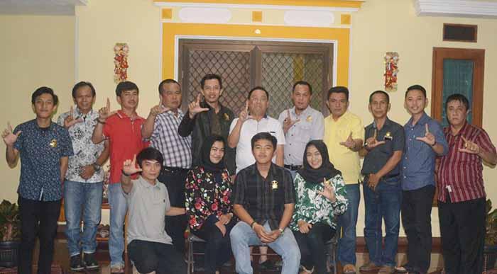 Anjau Silau Humas Kerajaan Adat Sekala Brak ke Pengurus PSMTI Lampung