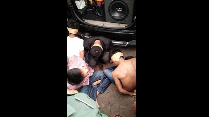 Begal Jaringan Lampung di Cikupa Tangerang