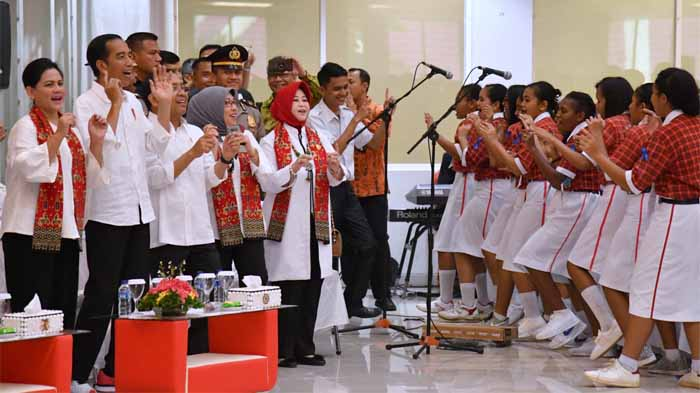 Jokowi Ajak Jauhi Narkoba