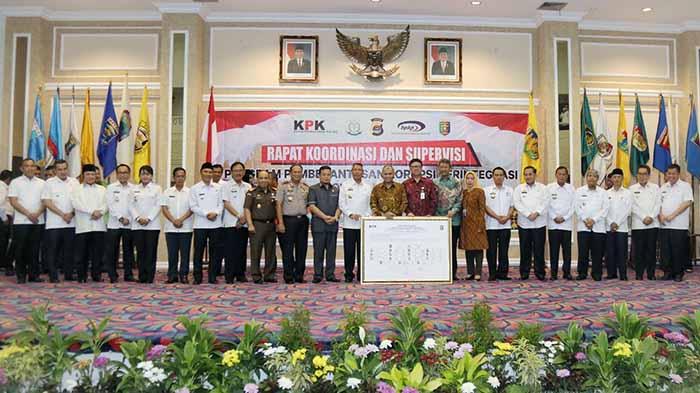 Ketua KPK Warning Bupati, Wali Kota dan Ketua DPRD di Lampung Komitmen Berantas Korupsi