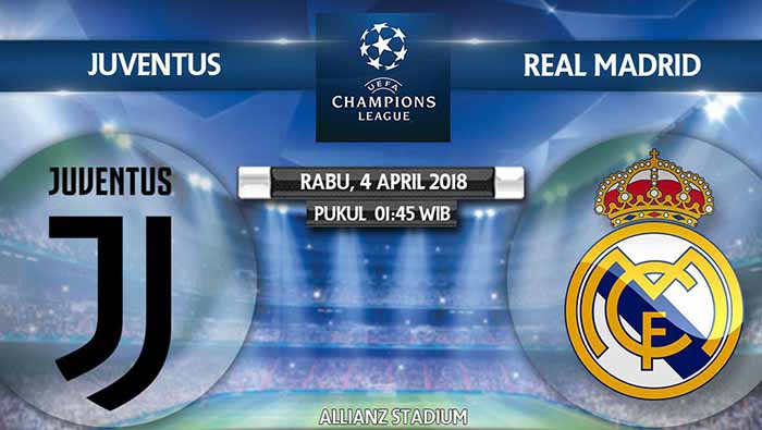 Liga Champions Juventus vs Real Madrid live