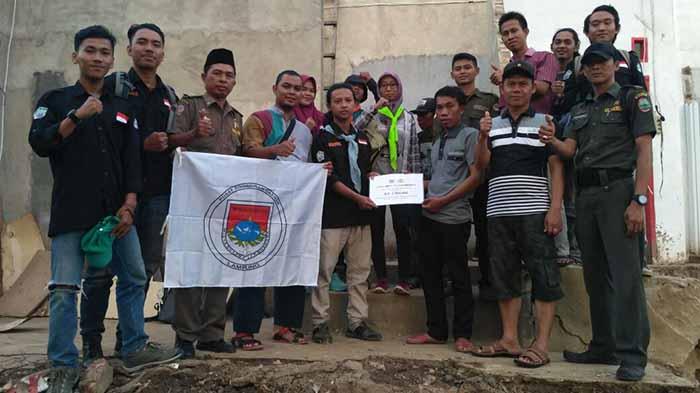 PKD Mapala Lampung Salurkan Bantuan untuk Korban Banjir di Kalianda