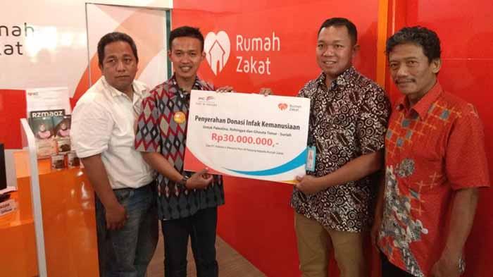 Pelindo II-PPDI IPC Panjang Serahkan Donasi Kemanusiaan via Rumah Zakat Lampung