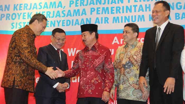 Proyek Sistem Penyediaan Air Minum di Bandar Lampung Diguyur IIF & BNI Rp550 M