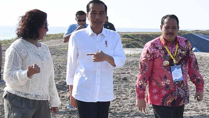 Tingkatkan Produktivitas Nelayan-Budidaya Ikan, Presiden Resmikan KJA PPI Cikidang