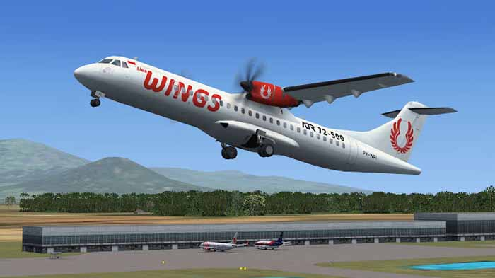 Segera Beroperasi, Ini Jadwal Penerbangan Wings Air Bandar Lampung-Krui